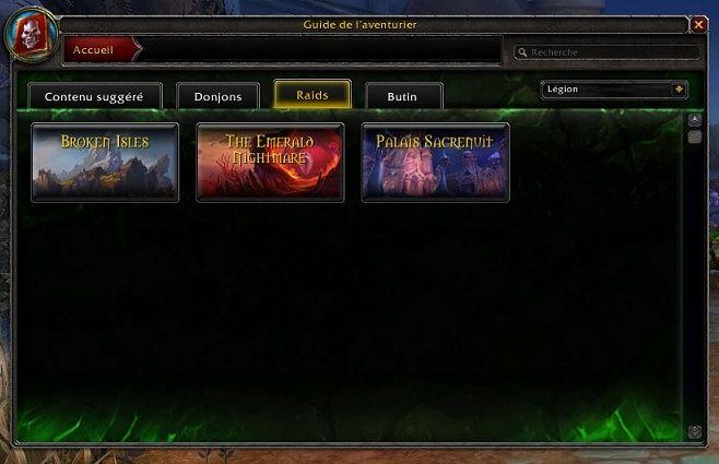 Screen Legion Raidle10