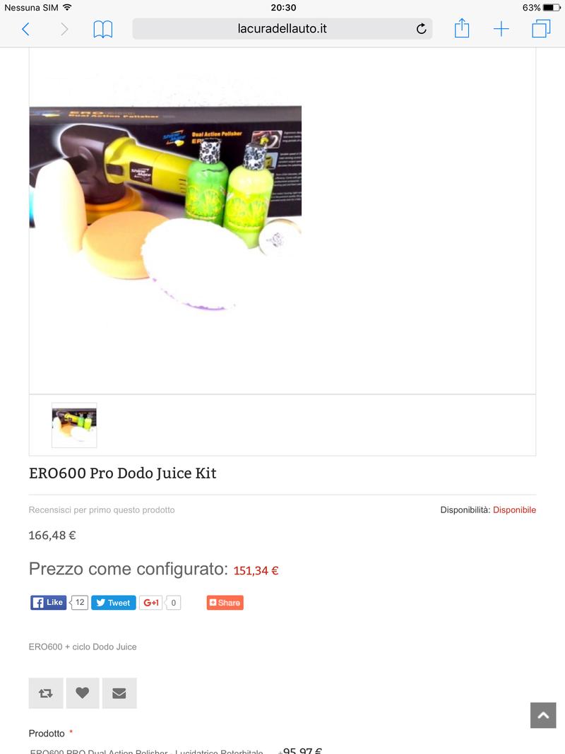Richiesta di consigli per kit lucidatura e clay bar per un novellino  Image10