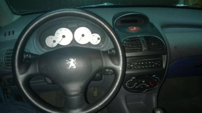 """MarcKnight62 """"Peugeot 206 1.4"""" Souci de sonde catalyseur Wp_20110"""