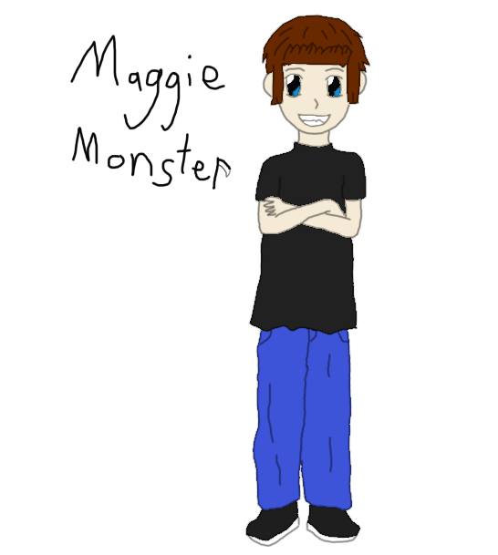 Monsters can draw too Maggie10