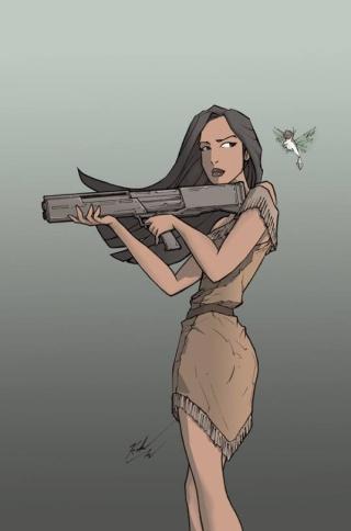 Pocahontas and Mulan 13312811