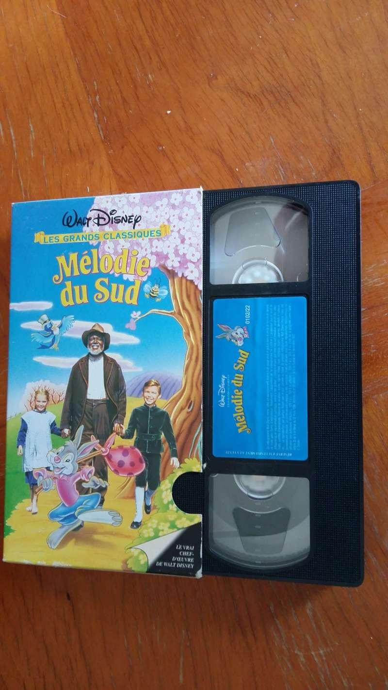 Mélodie du sud VHS boîte en carton  20160510