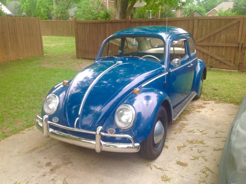 1964 Sea Blue Beetle in Perry, GA Image10