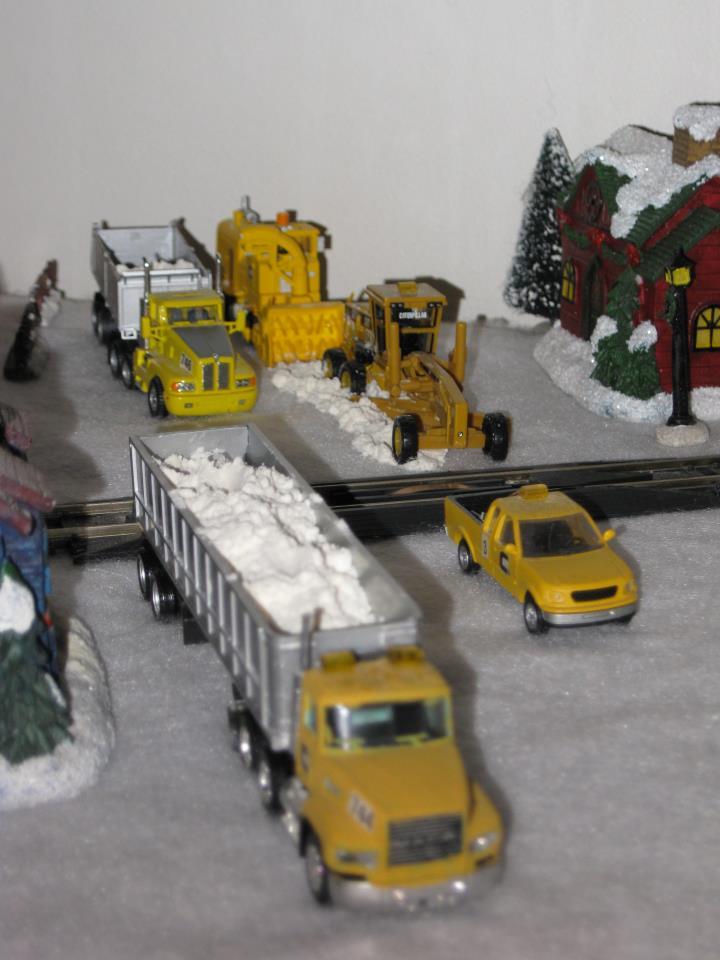 1/87 diorama neige 55832710