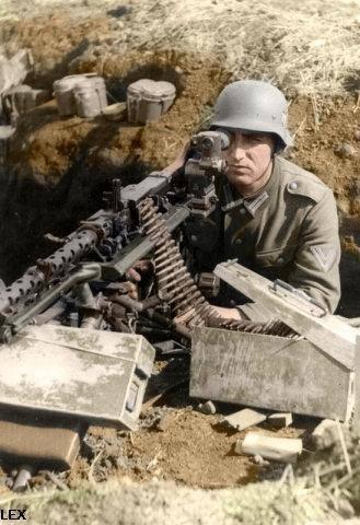 La Maschinengewehr 34/41 ou MG 34/41 et la MG42  Image30