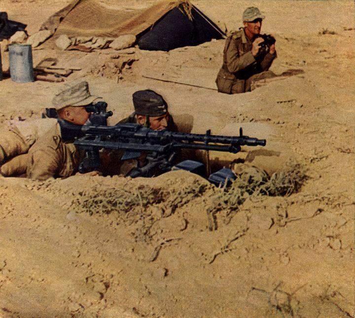 La Maschinengewehr 34/41 ou MG 34/41 et la MG42  Image32