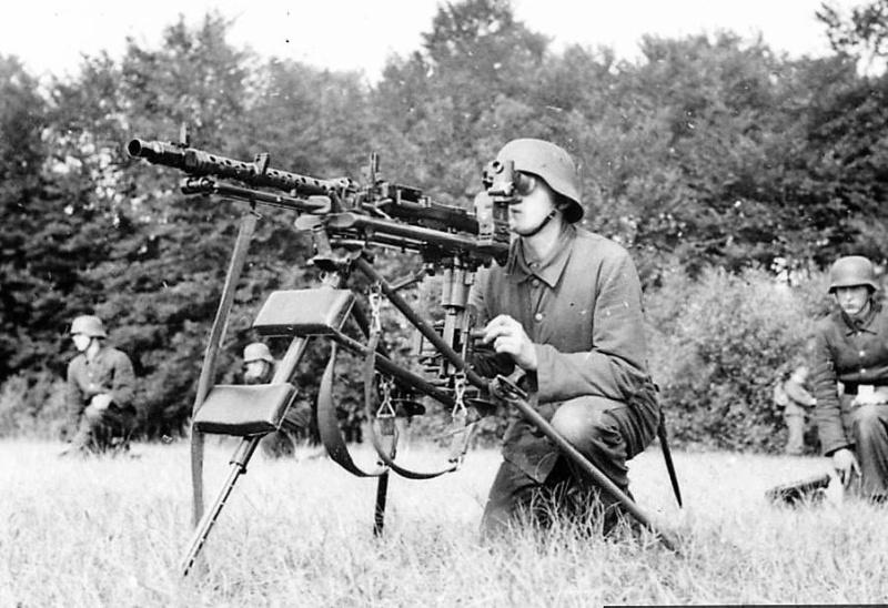 La Maschinengewehr 34/41 ou MG 34/41 et la MG42  Image49