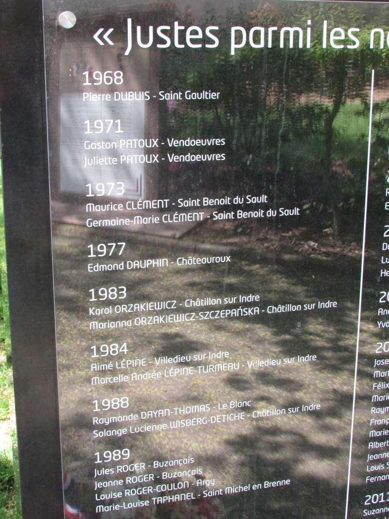 Stèle des Justes parmi les Nations (Indre) Img_7713
