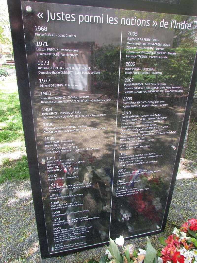 Stèle des Justes parmi les Nations (Indre) Img_7714