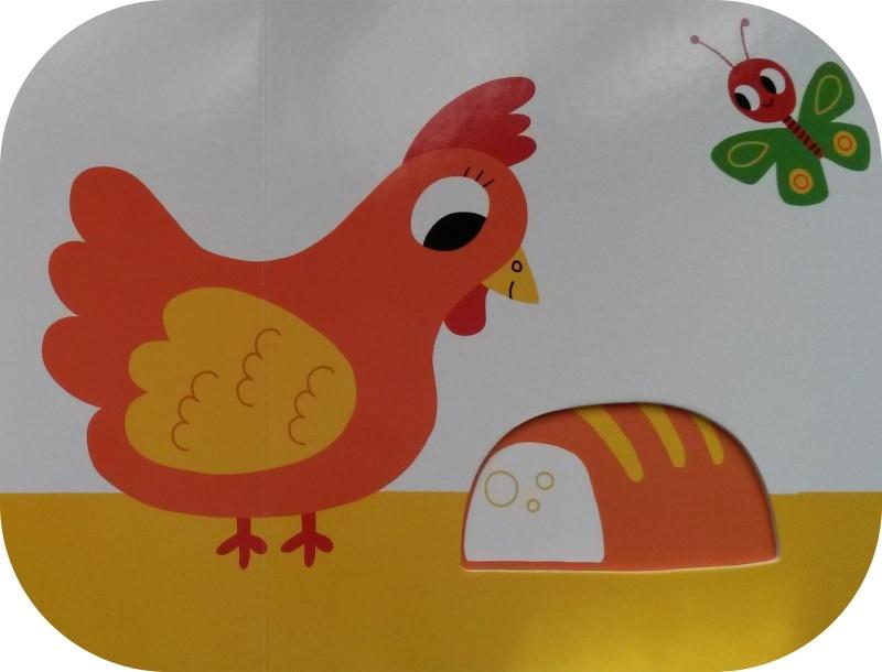Une poule sur un mur 20150210
