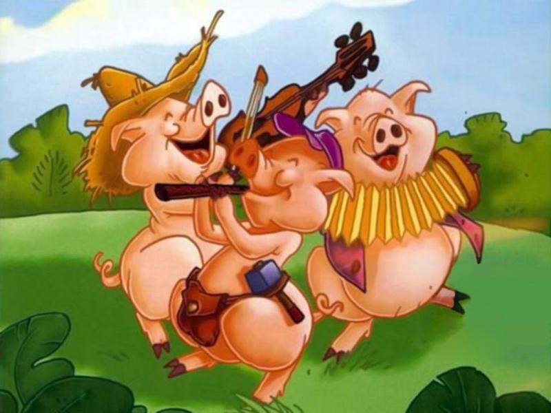 Les trois petits cochons Maxres11