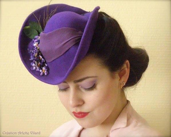 Et elle avait ! elle avait ! elle avait un chapeau rigolo ! et une drôle de petite robe... LA MODE PENDANT LA GUERRE EN FRANCE ET COTE US 10623010