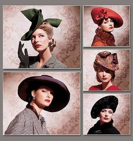 Et elle avait ! elle avait ! elle avait un chapeau rigolo ! et une drôle de petite robe... LA MODE PENDANT LA GUERRE EN FRANCE ET COTE US 14745910