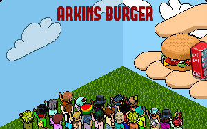 ARKINS BURGER - FAST FOOD Fond10