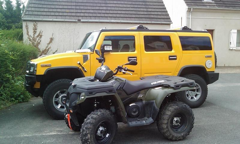 Mon Hummer H2 jaune  Imag0111