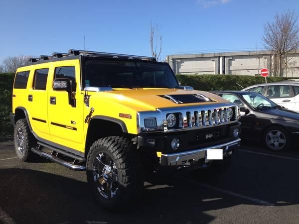 Mon Hummer H2 jaune  Img-0410
