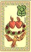Plaisir - La Paix - Union - Famille - Amor - La Table - Passions Carte-39