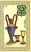 Plaisir - La Paix - Union - Famille - Amor - La Table - Passions Carte-40