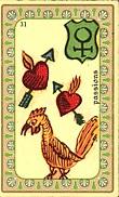 Plaisir - La Paix - Union - Famille - Amor - La Table - Passions Carte-41