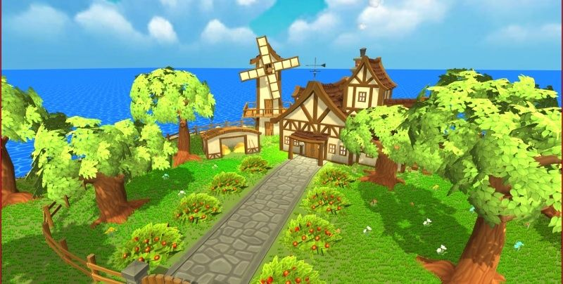 Hand-Painted Village Pack -- 315 Modular Assets -- Image Heavy! 410