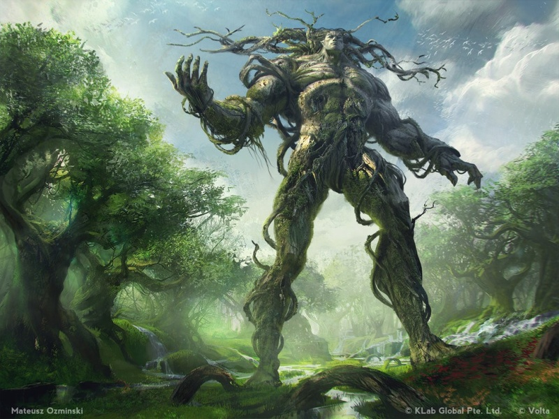 Omnia the Maker, Father of Dryads Omniat10