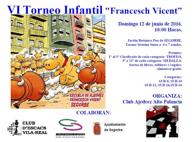 Torneo: 12 de Junio, Segorbe - Open Infantil Infant10