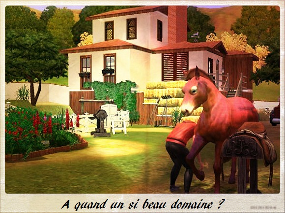 "[Challenge] Teens and Horses ""Sims 3"" - Page 4 Sims3u10"