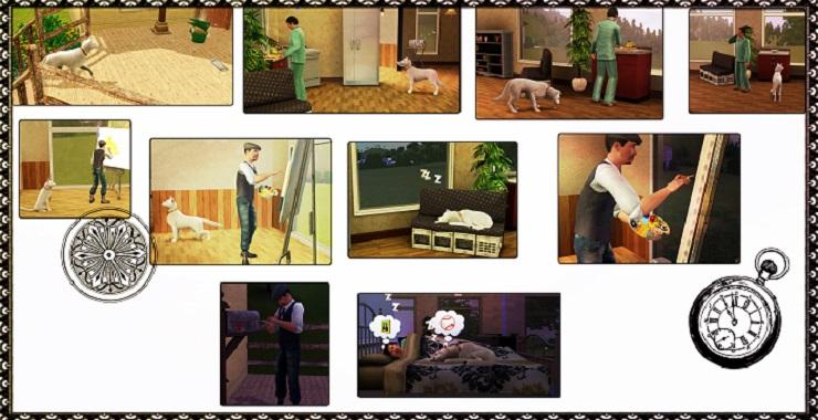 [Challenge Sims 3] Vie d'artiste - Page 3 Travai11