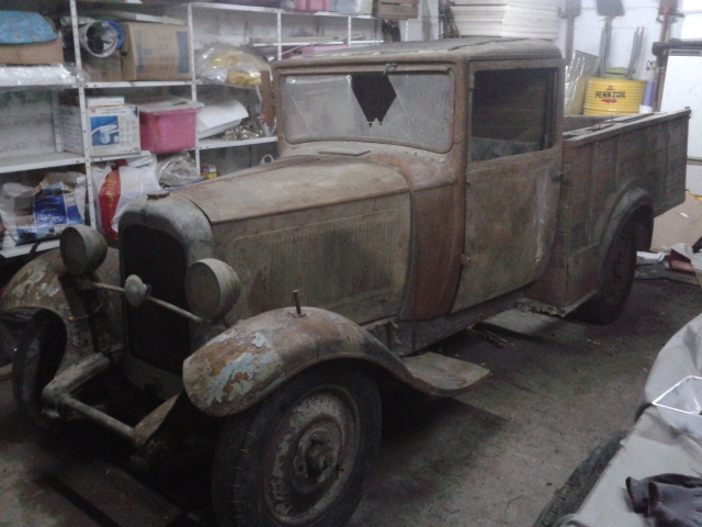 C4 pick up 1929 2012-110