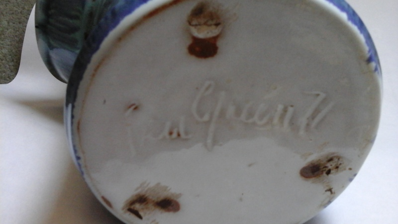 Pru Green, Gwili and Wivenhoe Potteries 20160511