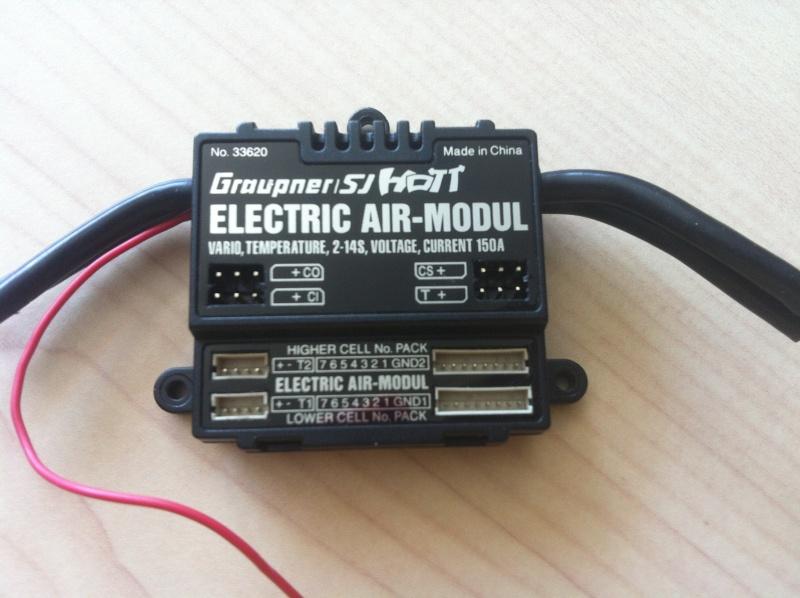[vendu] Electric Air Modul Hott Graupner Image20