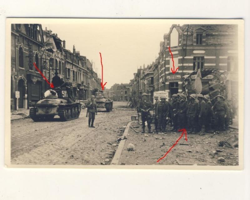 Chars allemand et prisonniers anglais  Ph111