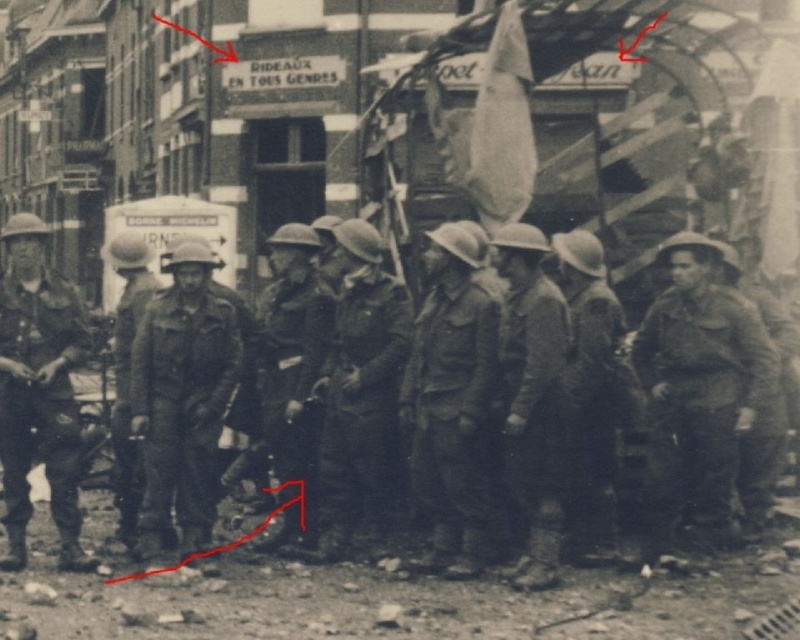 Chars allemand et prisonniers anglais  Ph311