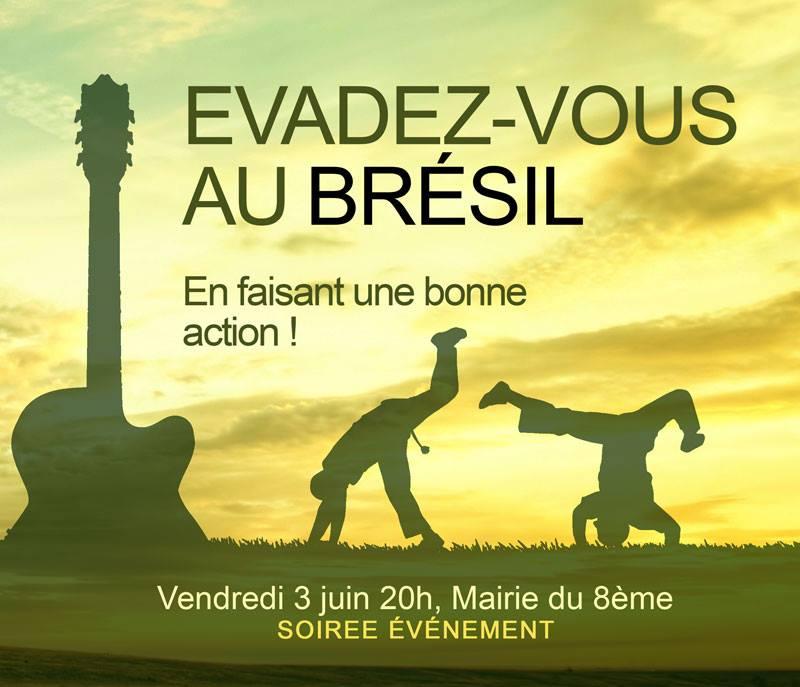 Soirée Solidaire Lyonnaise : évadez vous au Brésil en faisant une bonne action ! 13096210