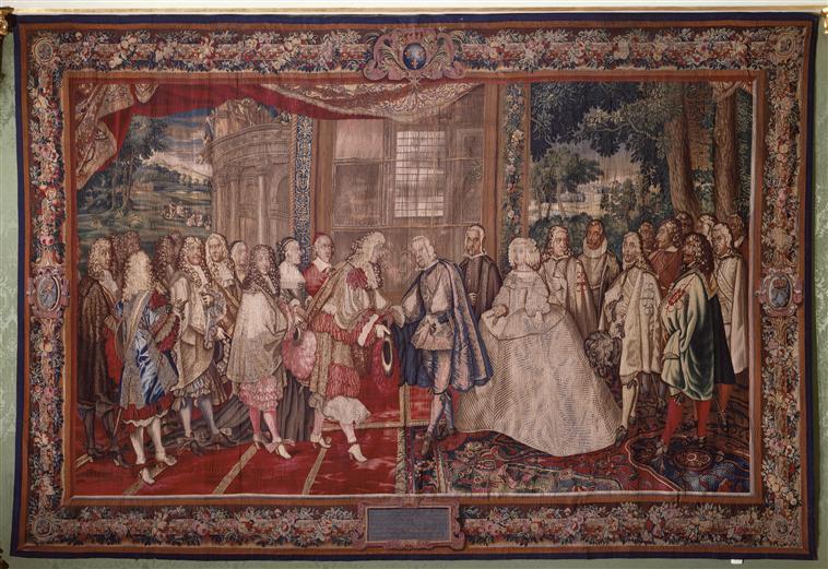 Expositions à Bayonne : Traité de Paix - Le génie de l'art 79-00010