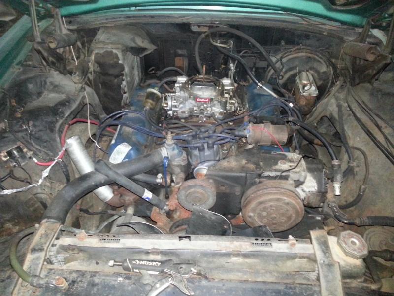 1969 Ford Thunderbird build 14510