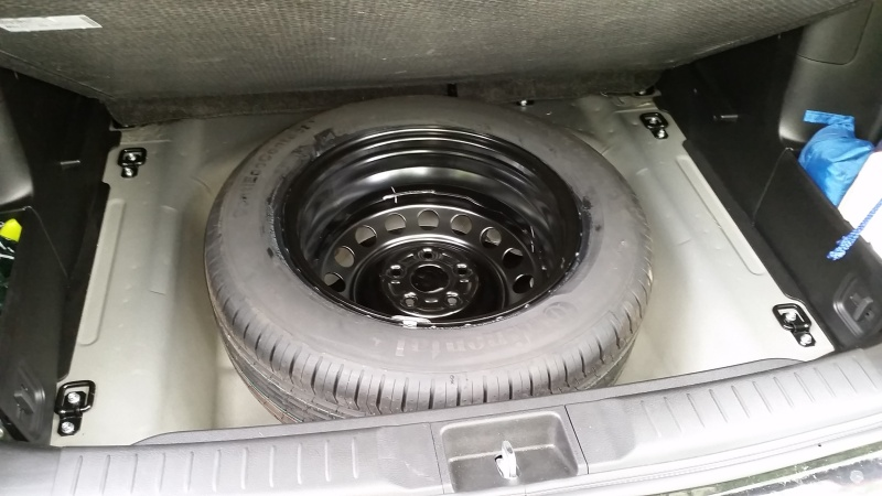 Full size spare wheel 20160611