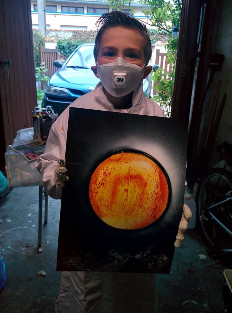 Quelques réalisation de mon fils (10 ans) Img_2014