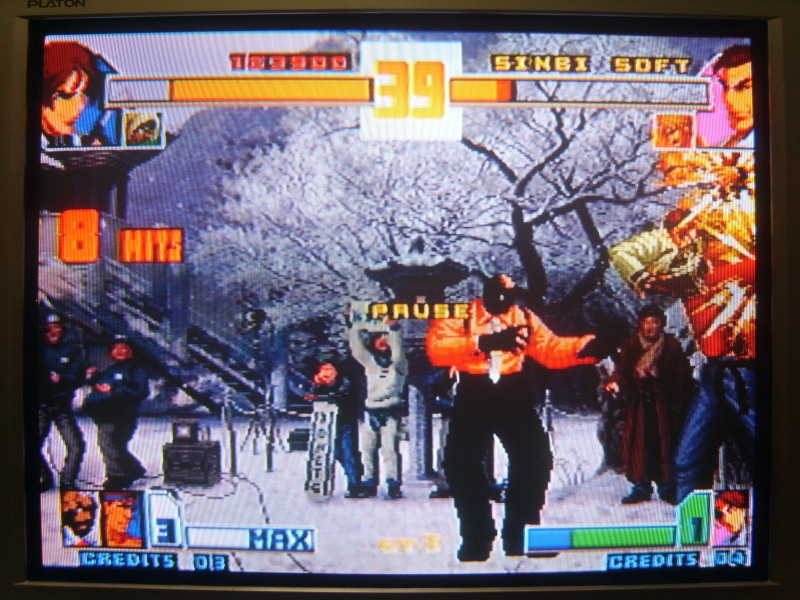 [MVS cartridge] KOF 2001 SHADOW EVOLUTION - prototype - (by SINBI★SOFT) ※ Complete modify the entire content in English.. ※ Mvs_iu40