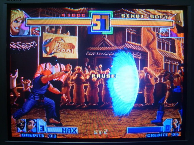 [MVS cartridge] KOF 2001 SHADOW EVOLUTION - prototype - (by SINBI★SOFT) ※ Complete modify the entire content in English.. ※ Mvs_iu41