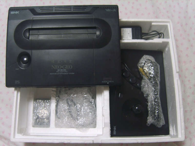 NEOGEO of the Korean body case version Oueu_o17