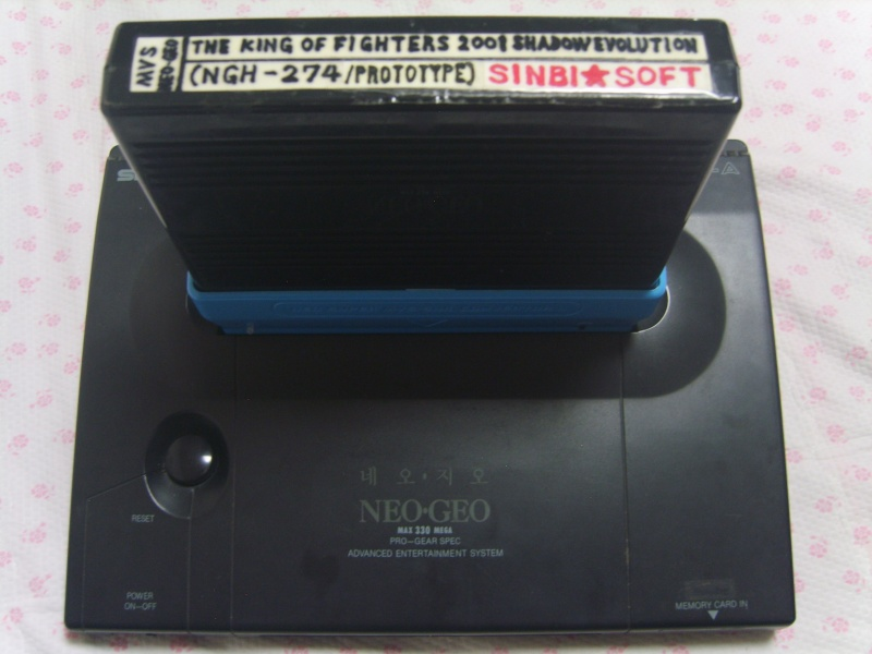NEOGEO of the Korean body case version Oueu_o18