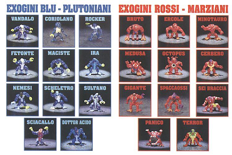 scambio o acquisto exogini serie terza Exogin10