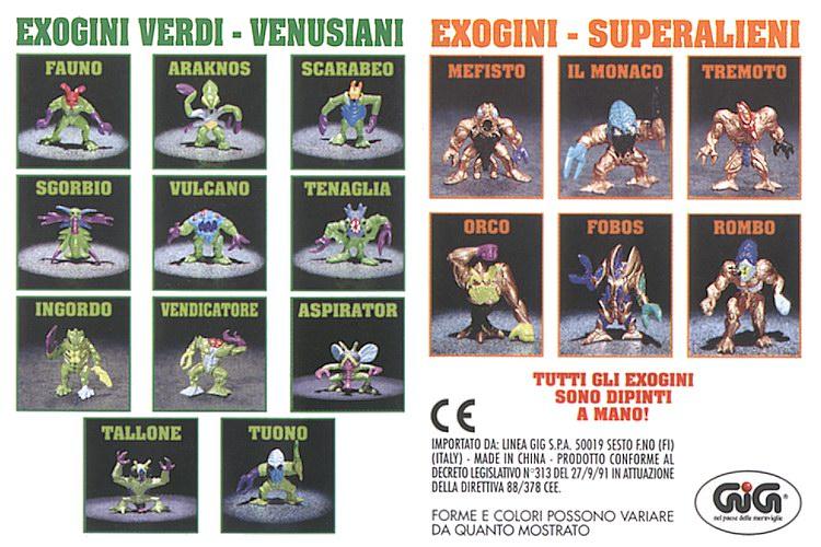 scambio o acquisto exogini serie terza Exogin11