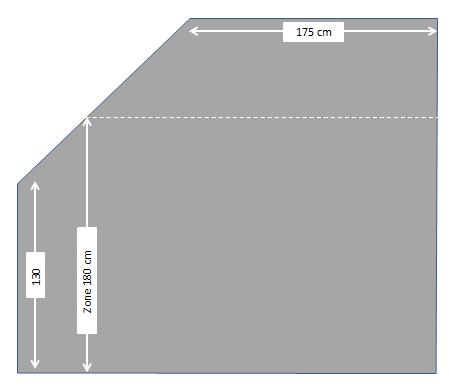 Réaménager une chambre d'adulte avec lucarne sous les combles Gris_b12