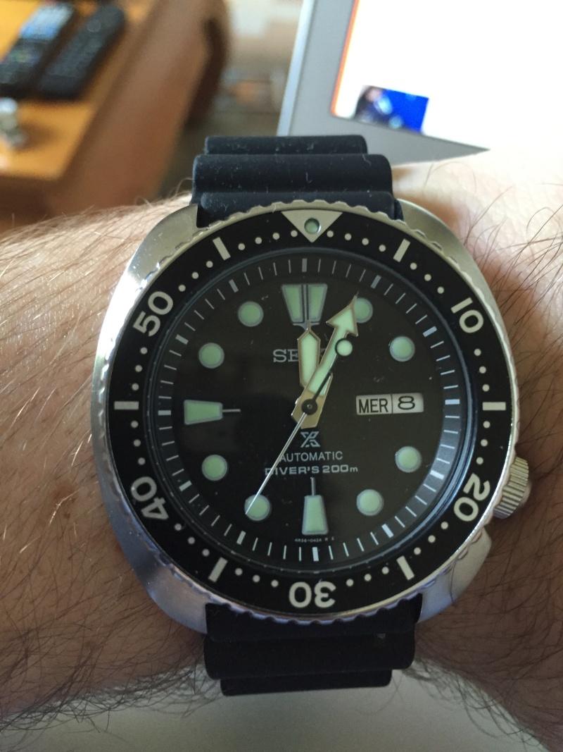 Seiko SKX007 ou Setinhart Ocean One Black Img_5711