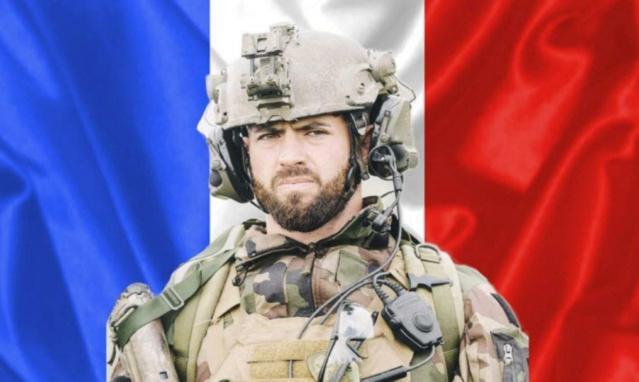 Un soldat français  tue au Mali  Hommage au Cap-Chef  Maxime  Blasco Respec10
