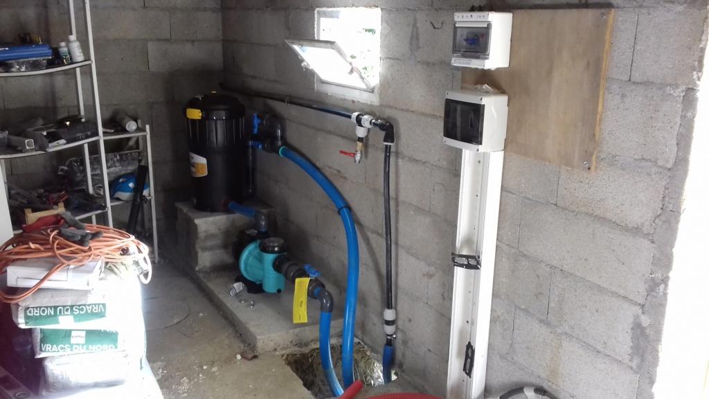 Conseil installation et branchement nouvelle pompe 20170510