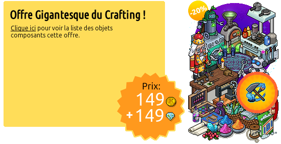 [ALL] Offerta 'Gigantesco Affare Crafting' disponibile su Habbo Immag138