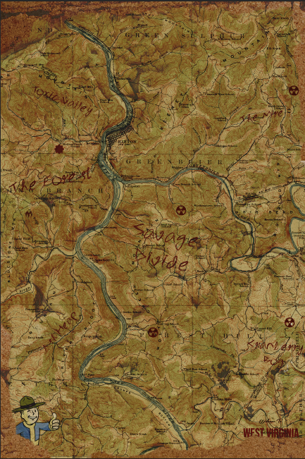 Fallout 76 HD map creation, need you help! 5ed37410
